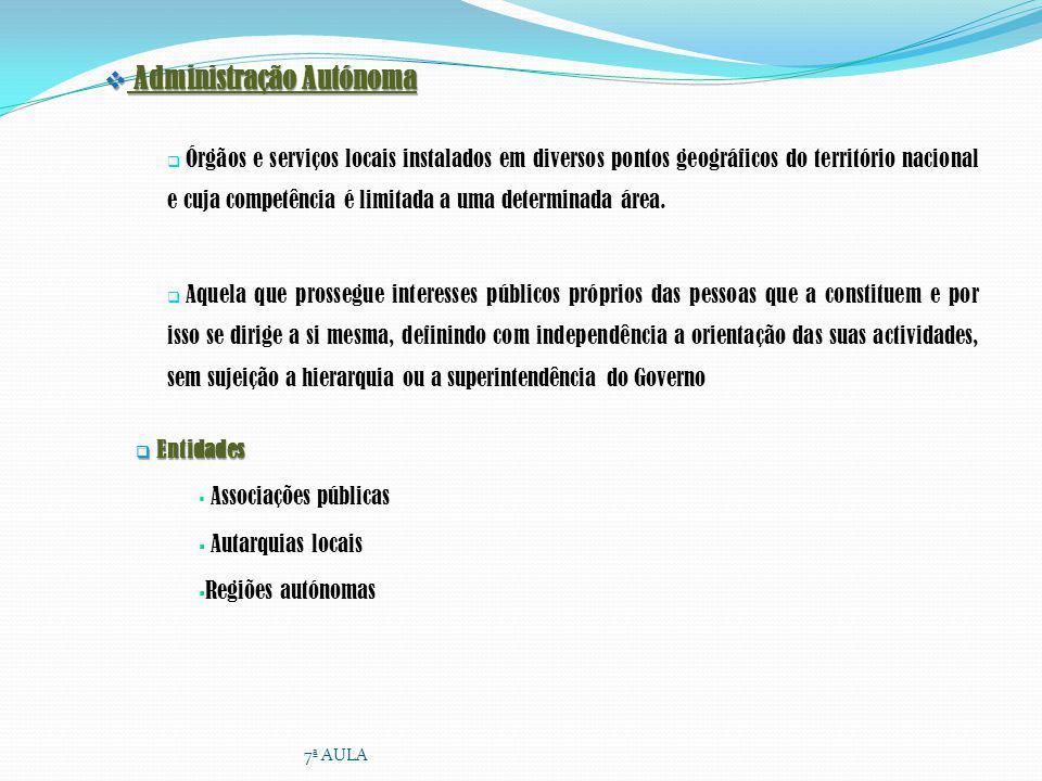 Administração Autónoma