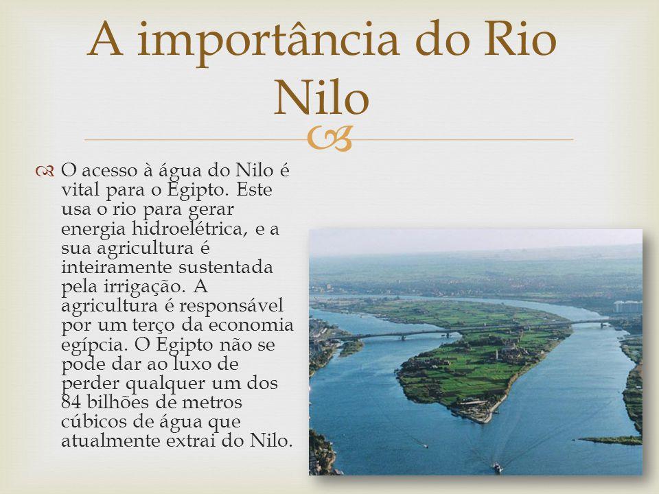 A importância do Rio Nilo