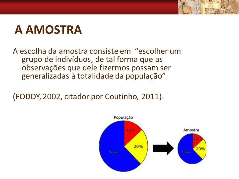 A Amostra