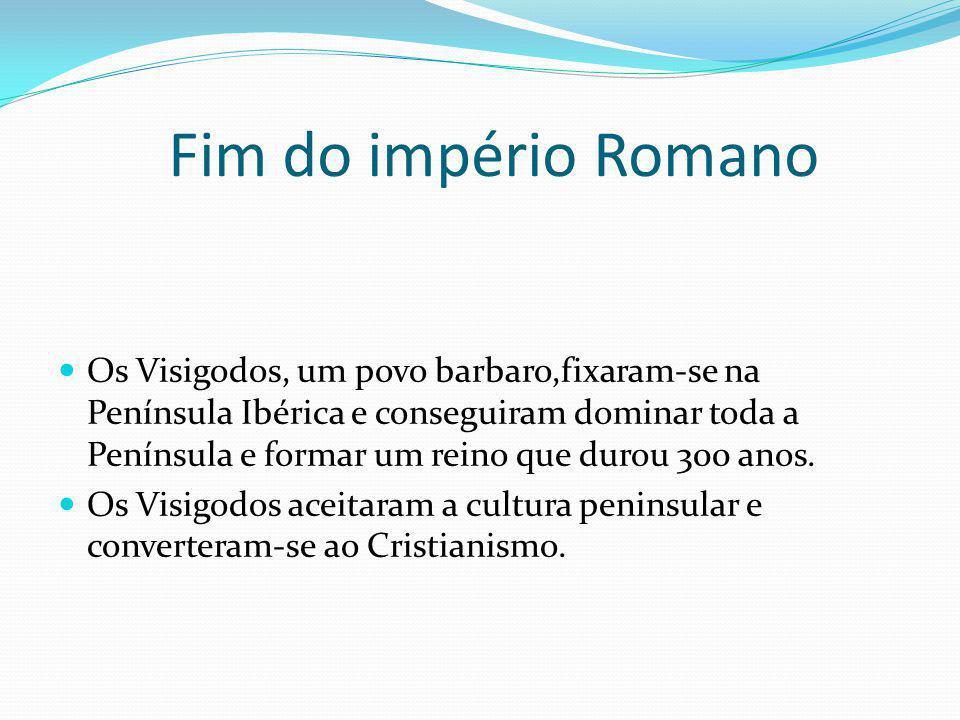 Fim do império Romano
