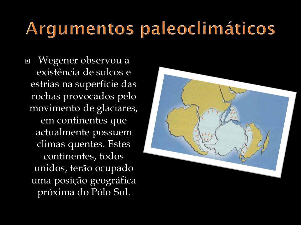 Argumentos paleoclimáticos