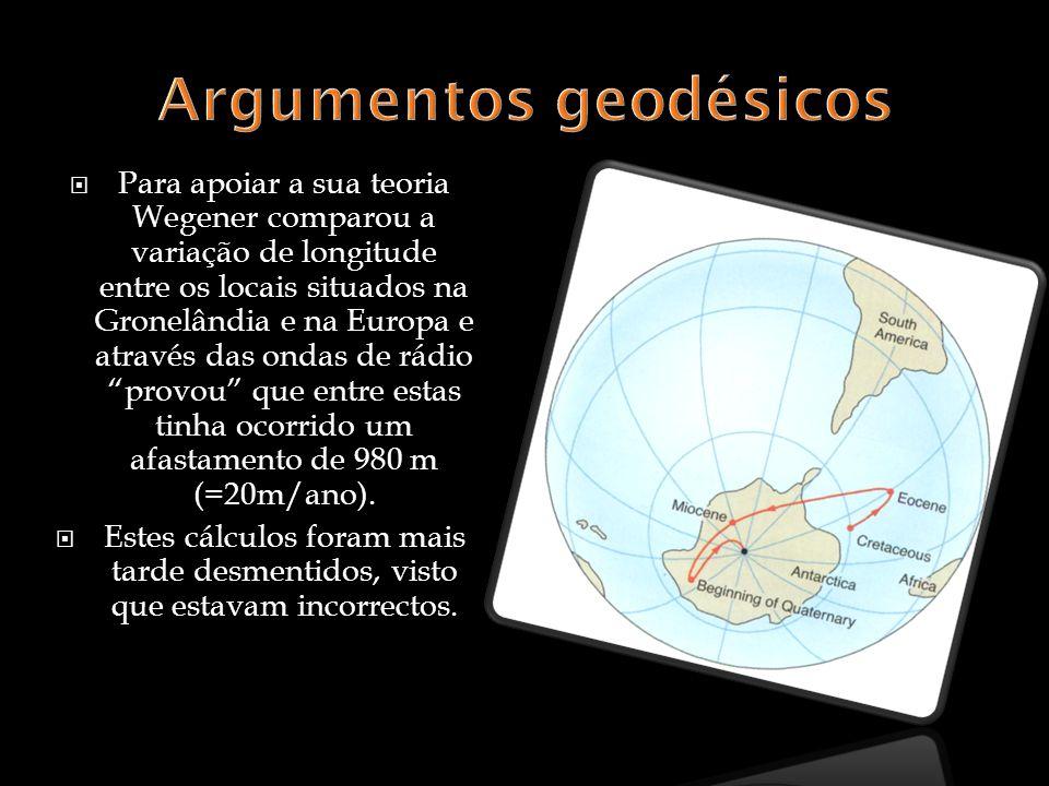 Argumentos geodésicos