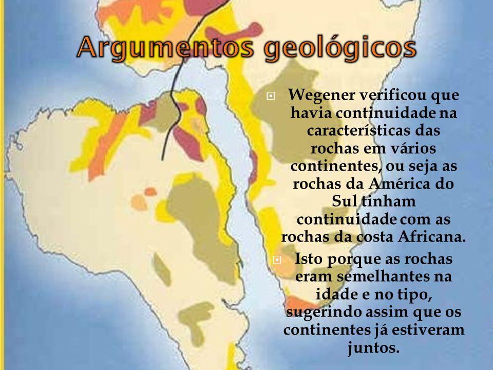 Argumentos geológicos
