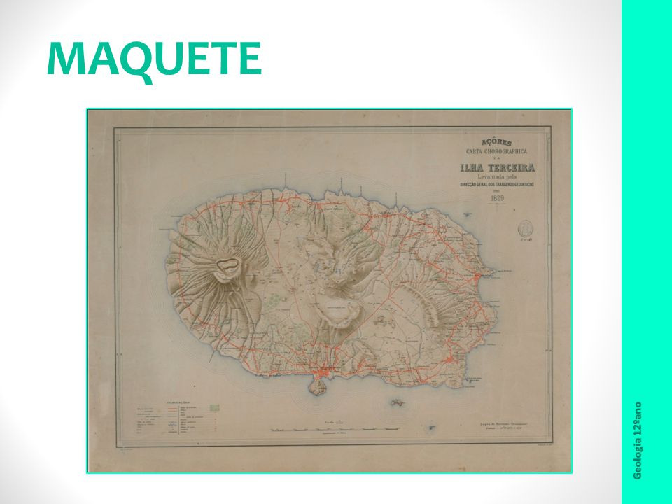 MAQUETE Geologia 12ºano