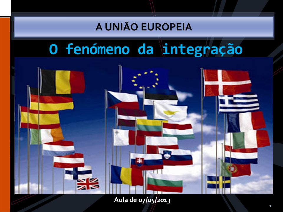 O fenómeno da integração