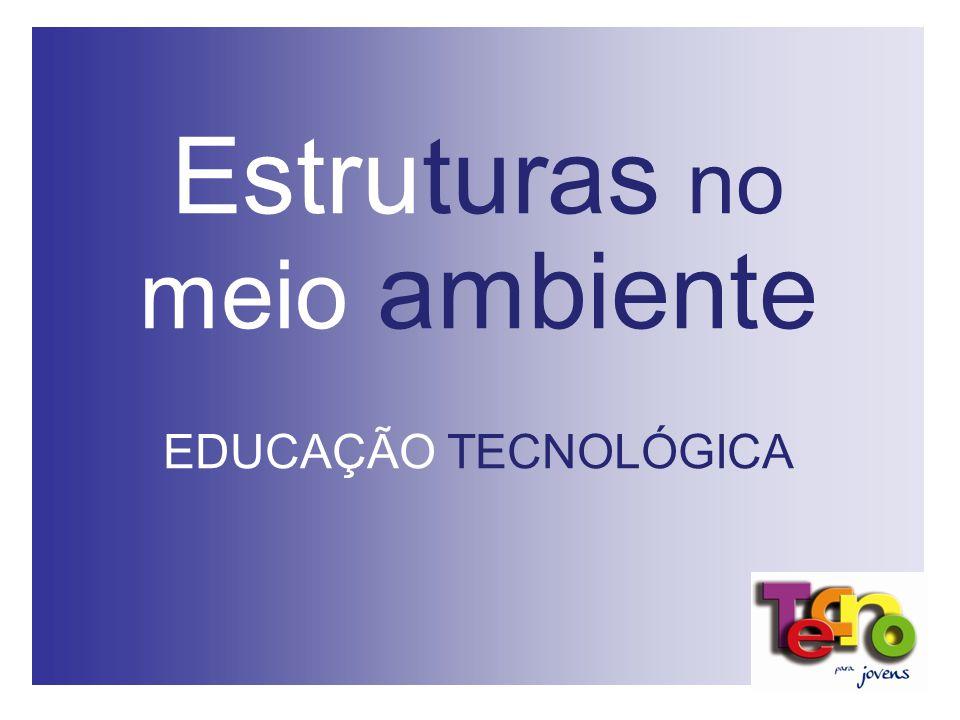 Estruturas no meio ambiente EDUCAÇÃO TECNOLÓGICA