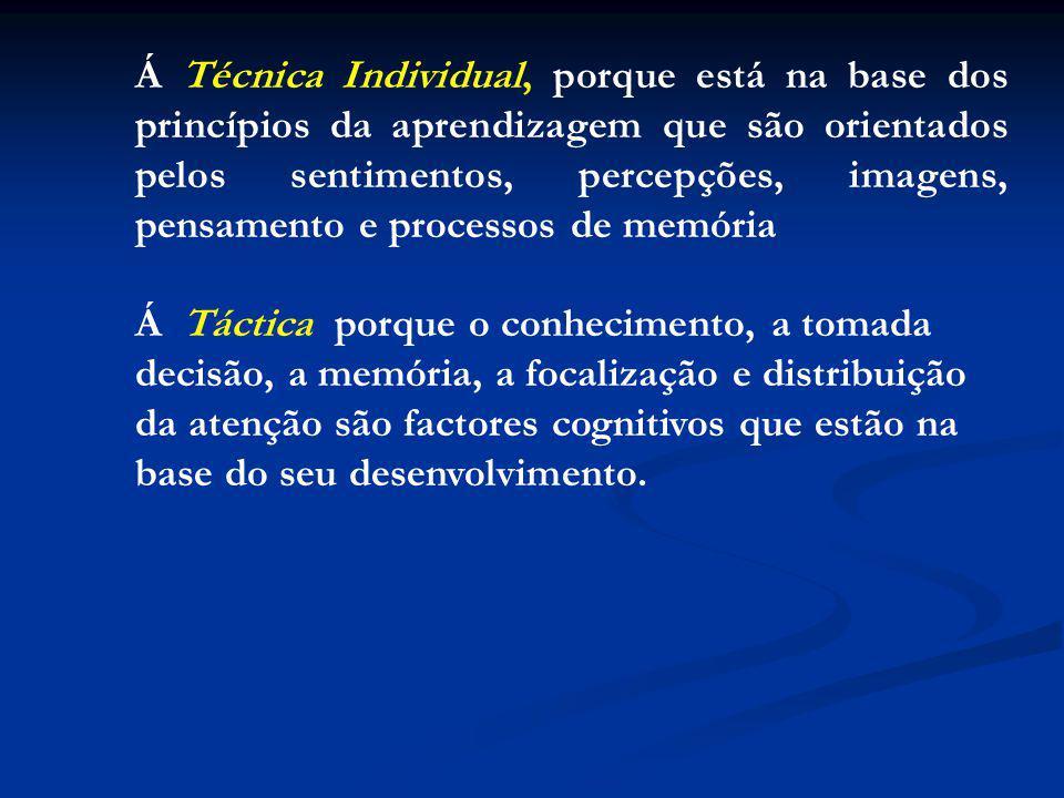 Á Técnica Individual, porque está na base dos princípios da aprendizagem que são orientados pelos sentimentos, percepções, imagens, pensamento e processos de memória