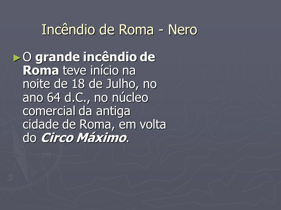 Incêndio de Roma - Nero