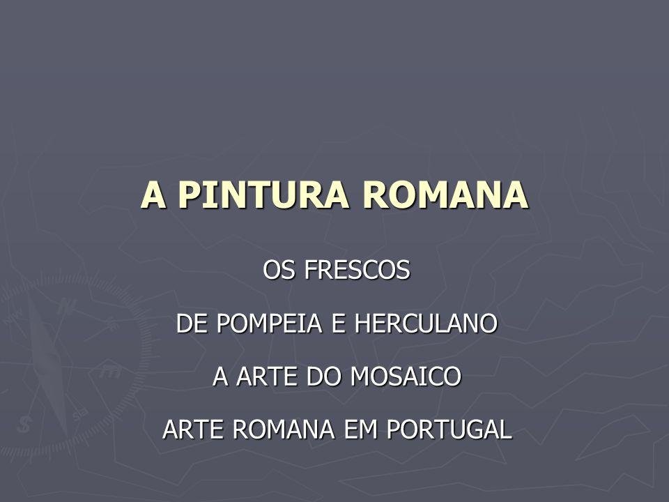 ARTE ROMANA EM PORTUGAL