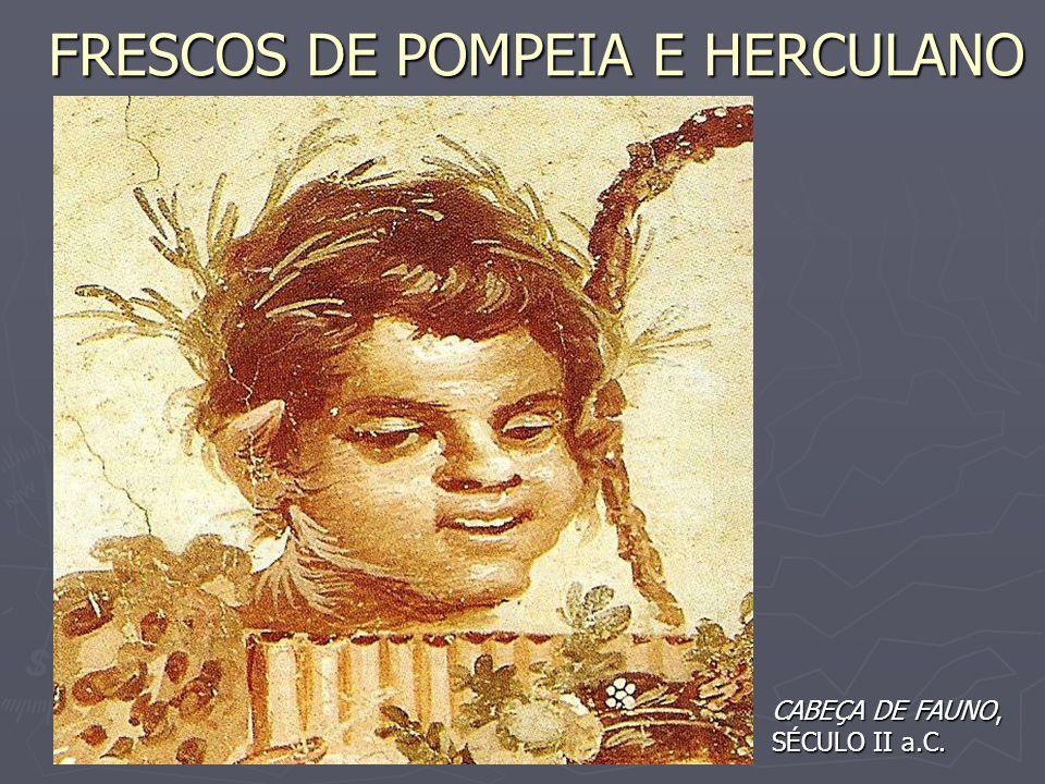 FRESCOS DE POMPEIA E HERCULANO