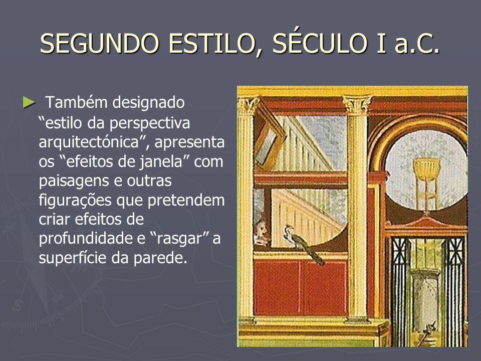 SEGUNDO ESTILO, SÉCULO I a.C.