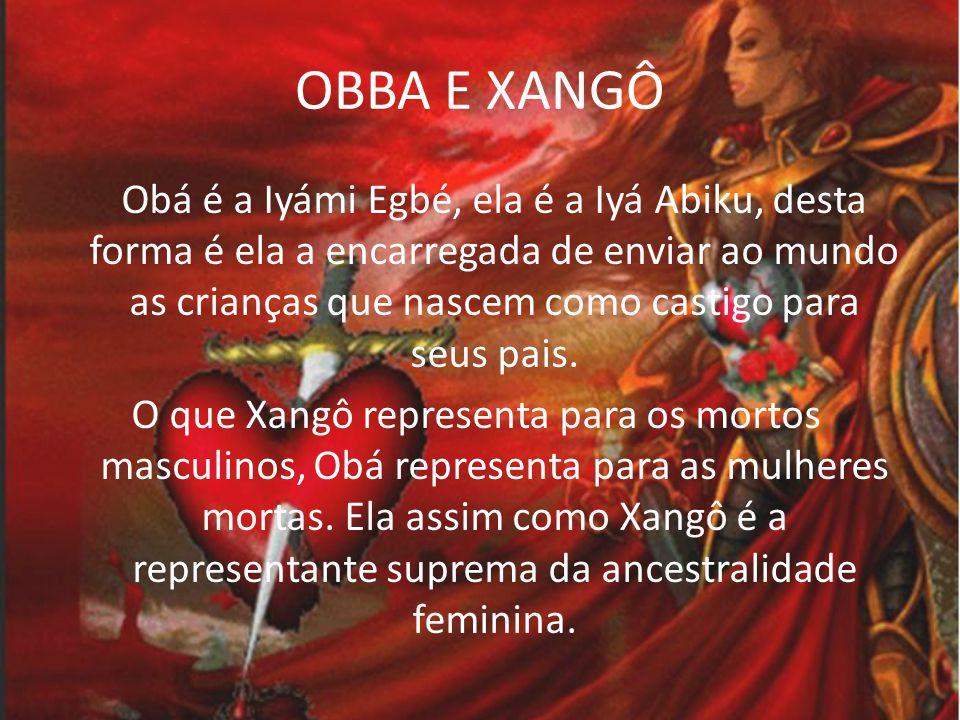 OBBA E XANGÔ