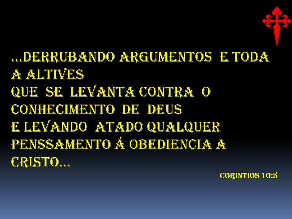 ...DERRUBANDO ARGUMENTOS E TODA A ALTIVES