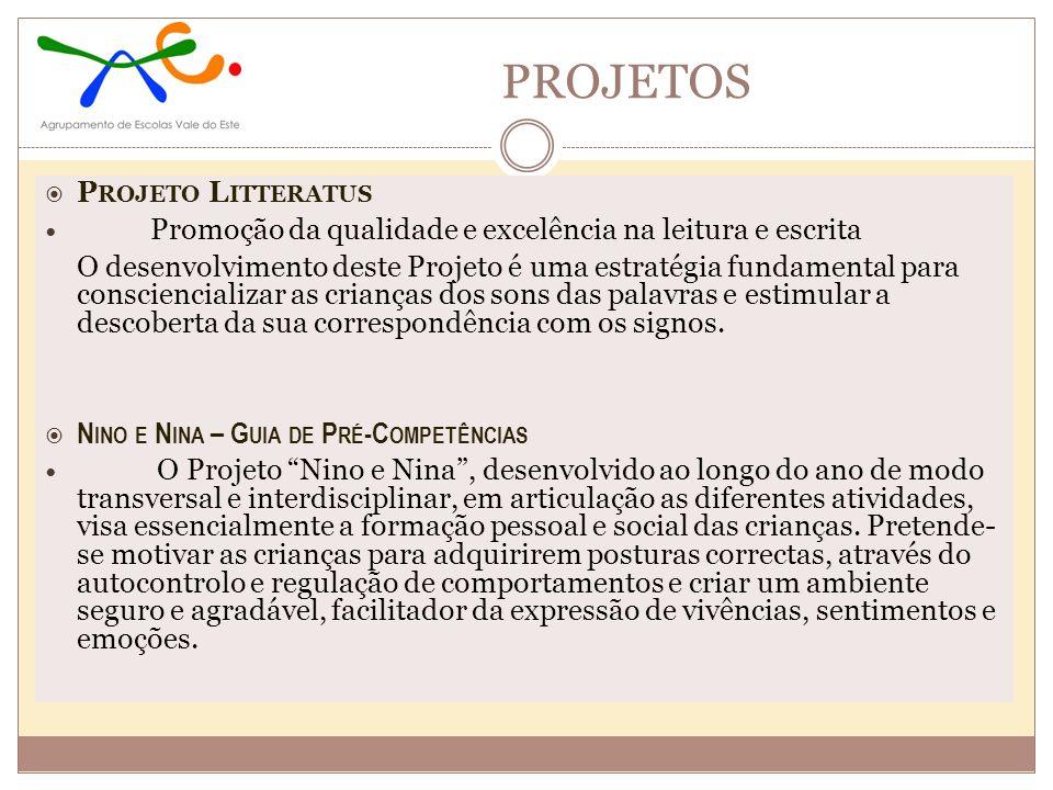 PROJETOS Projeto Litteratus