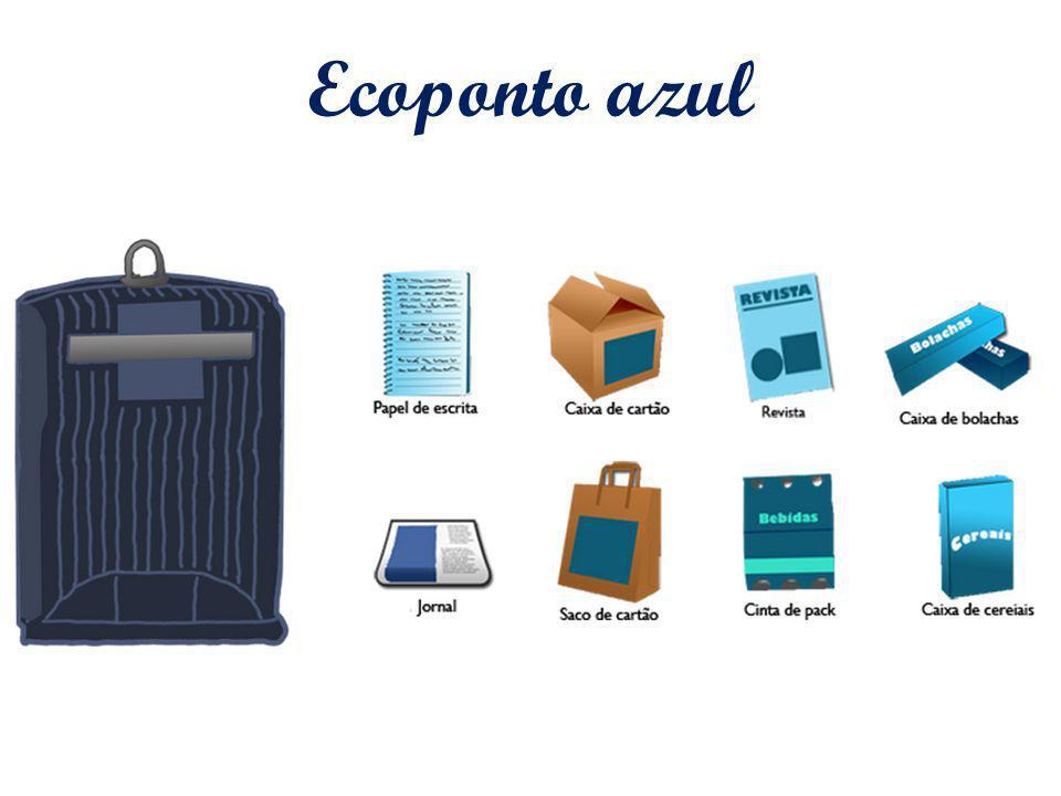 Ecoponto azul