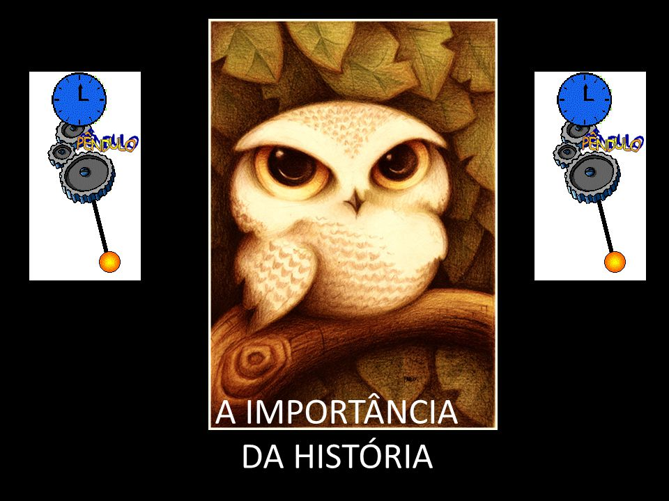 A IMPORTÂNCIA DA HISTÓRIA