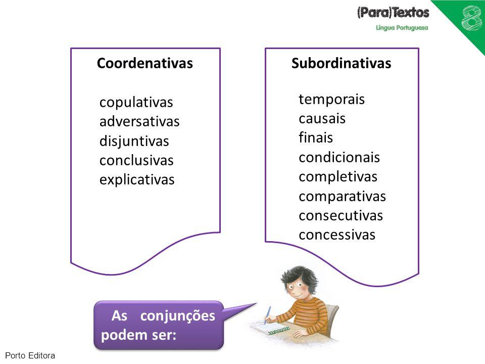 Coordenativas Subordinativas