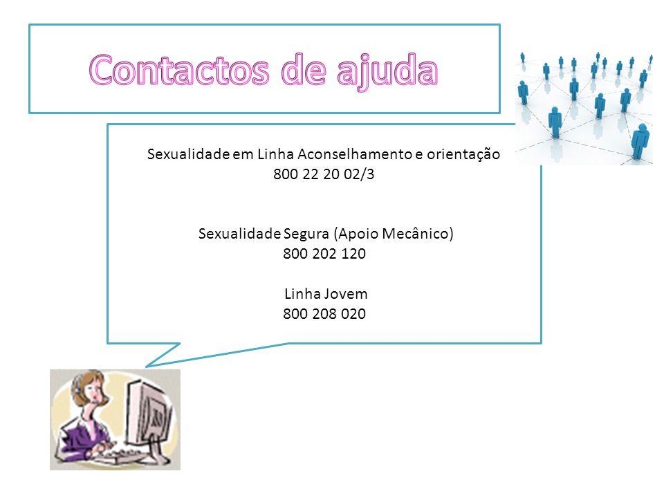 Sexualidade em Linha Aconselhamento e orientação 800 22 20 02/3