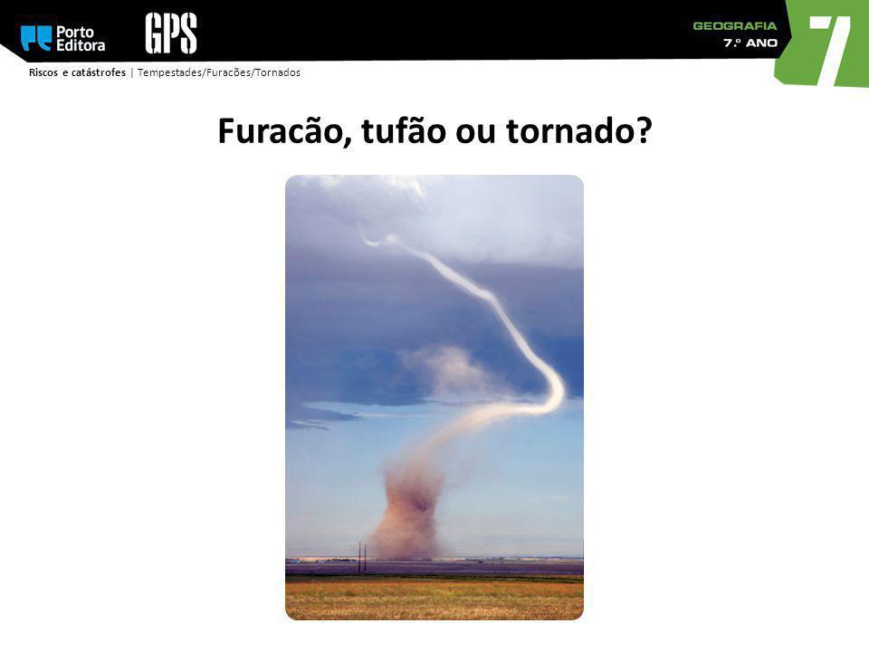 Furacão, tufão ou tornado