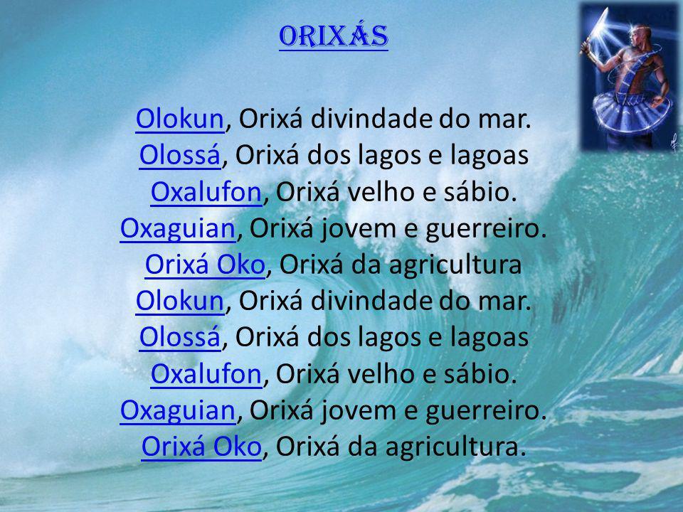 Orixás Olokun, Orixá divindade do mar