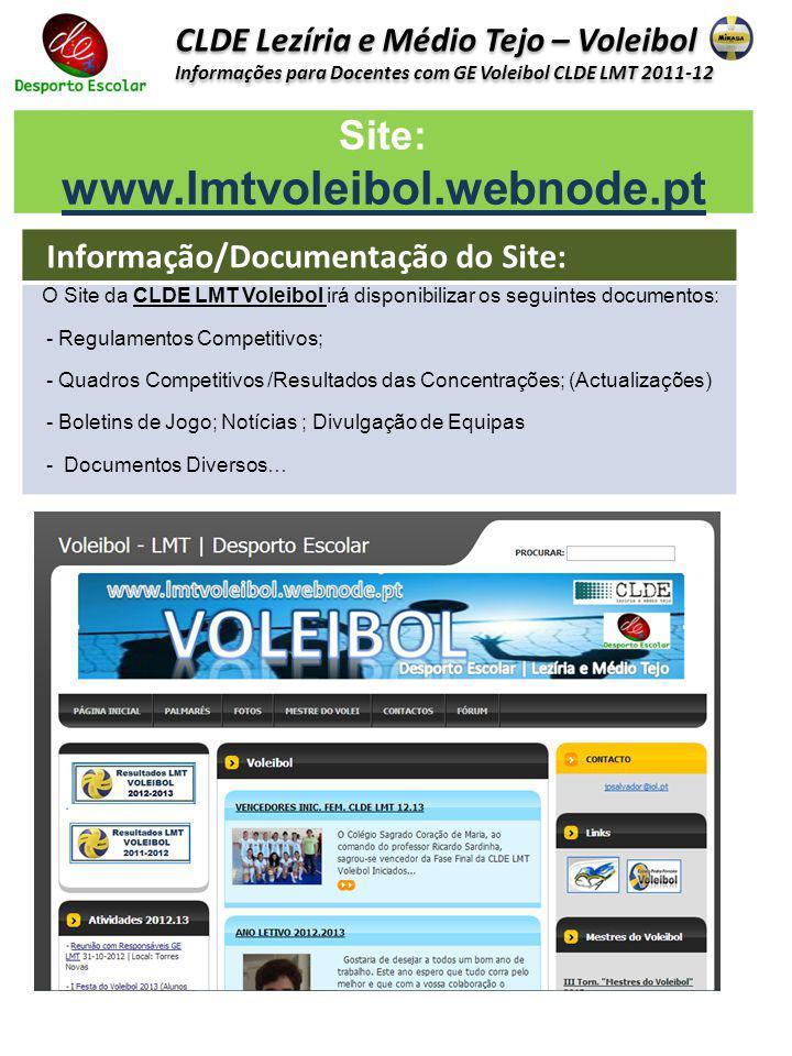 Site: www.lmtvoleibol.webnode.pt