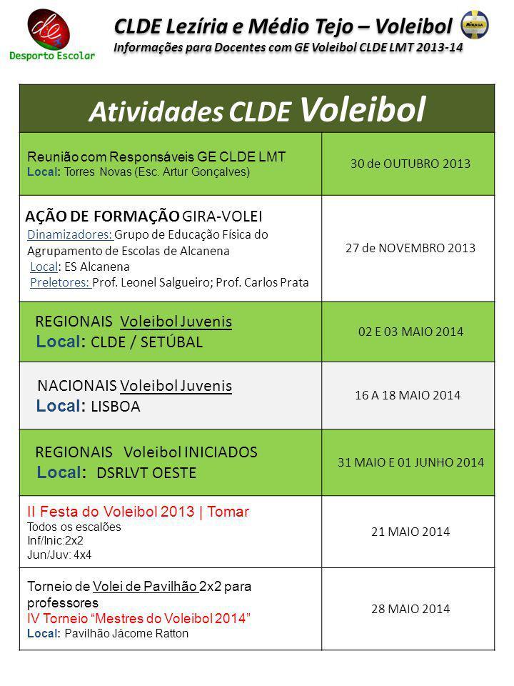 Atividades CLDE Voleibol