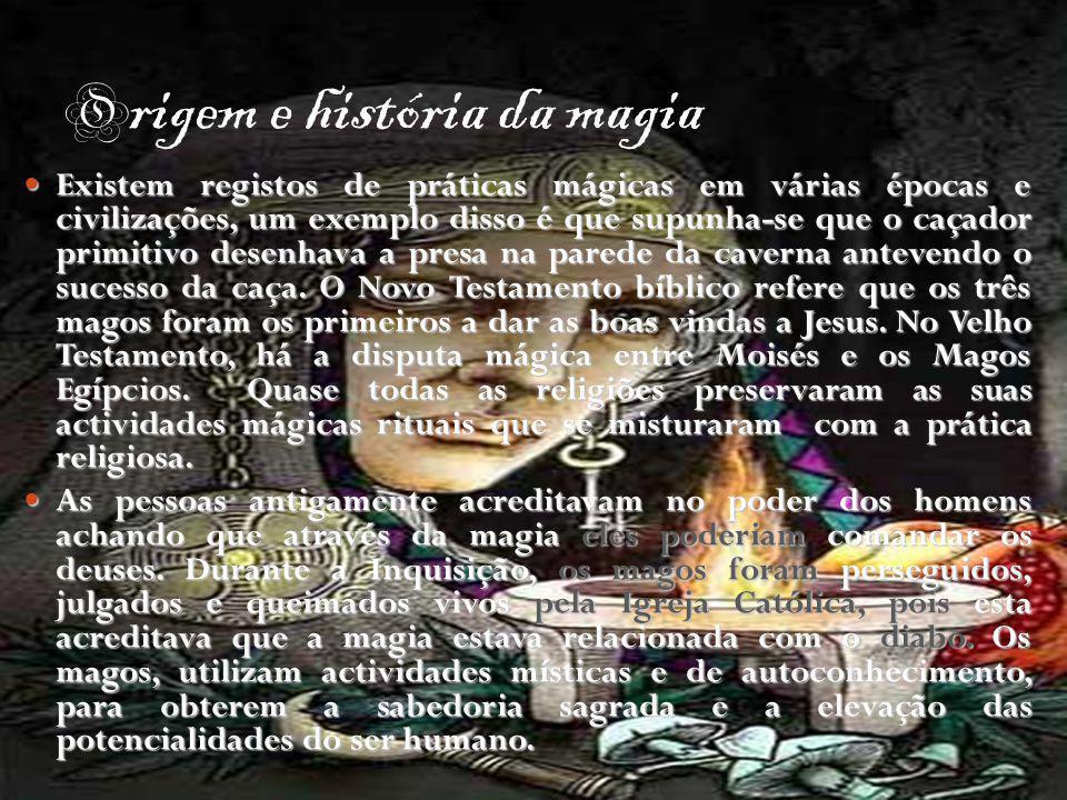 Origem e história da magia