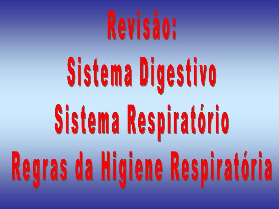 Regras da Higiene Respiratória