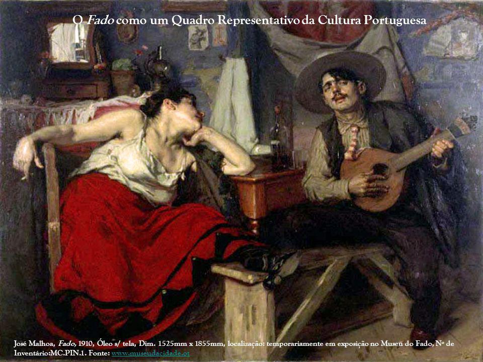 O Fado como um Quadro Representativo da Cultura Portuguesa