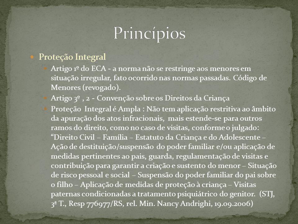 Princípios Proteção Integral