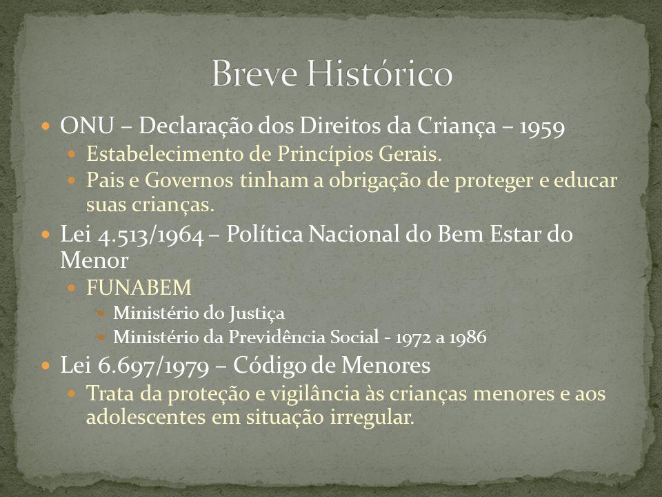 Breve Histórico ONU – Declaração dos Direitos da Criança – 1959