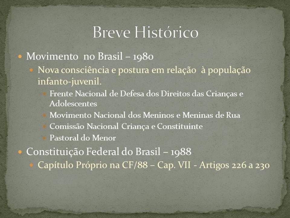 Breve Histórico Movimento no Brasil – 1980