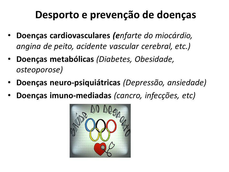 Desporto e prevenção de doenças