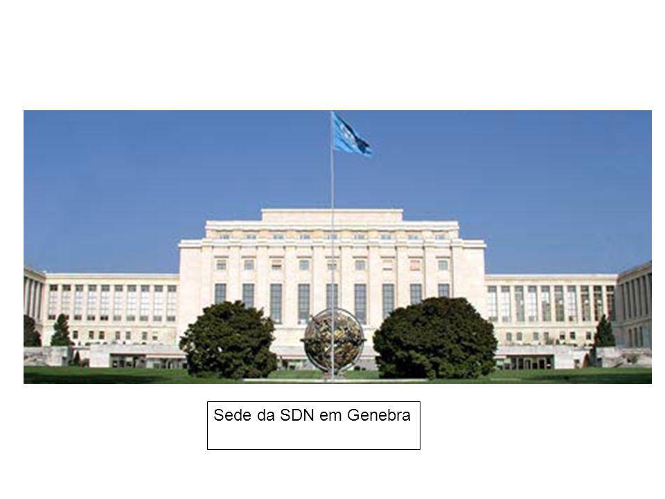 Sede da SDN em Genebra