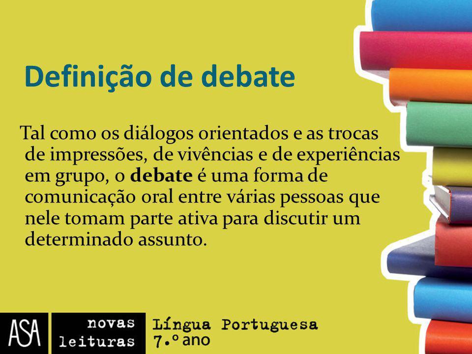 Definição de debate