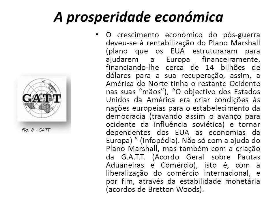 A prosperidade económica
