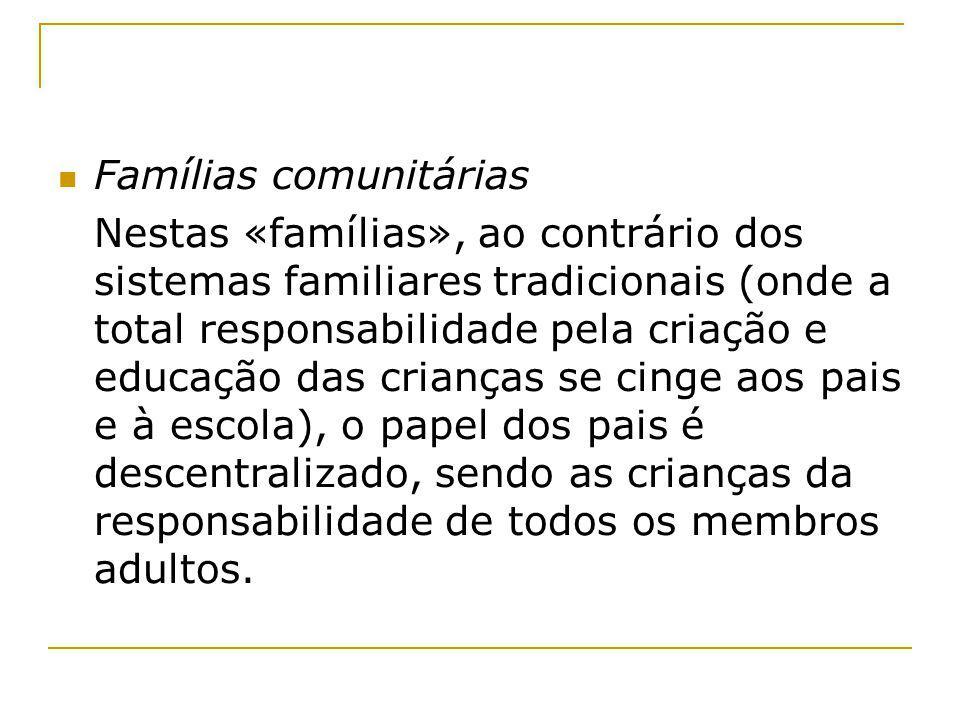 Famílias comunitárias