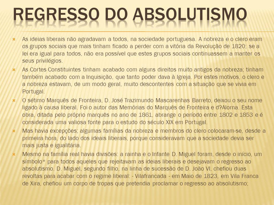 Regresso do Absolutismo