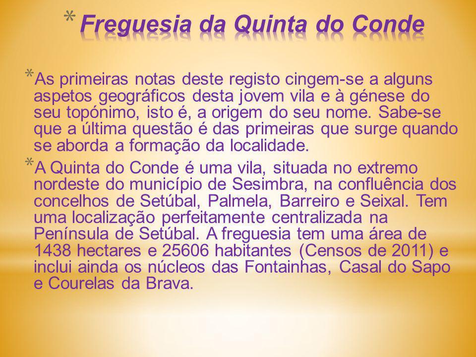 Freguesia da Quinta do Conde