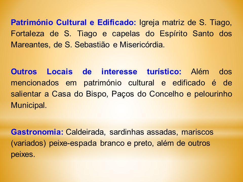 Património Cultural e Edificado: Igreja matriz de S