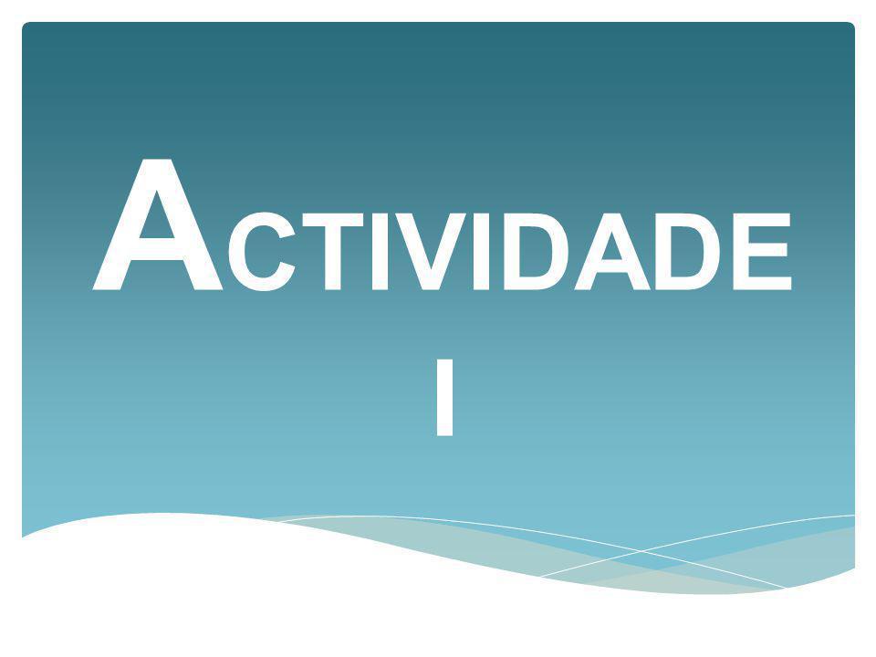 ACTIVIDADE I
