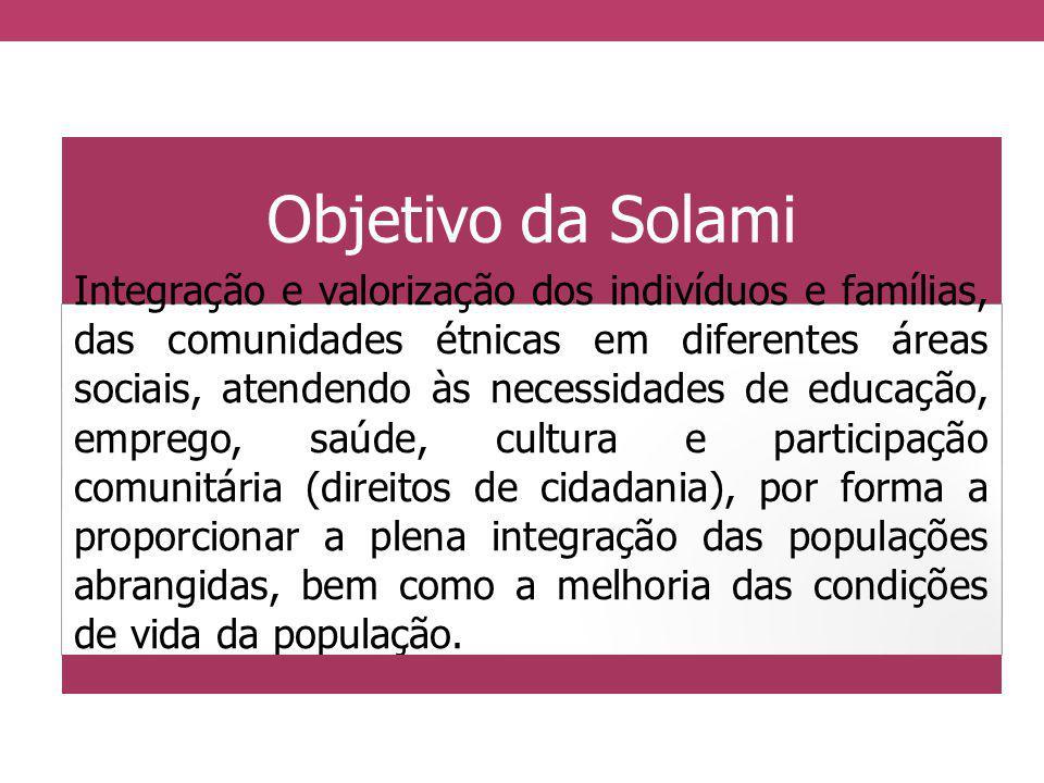Objetivo da Solami
