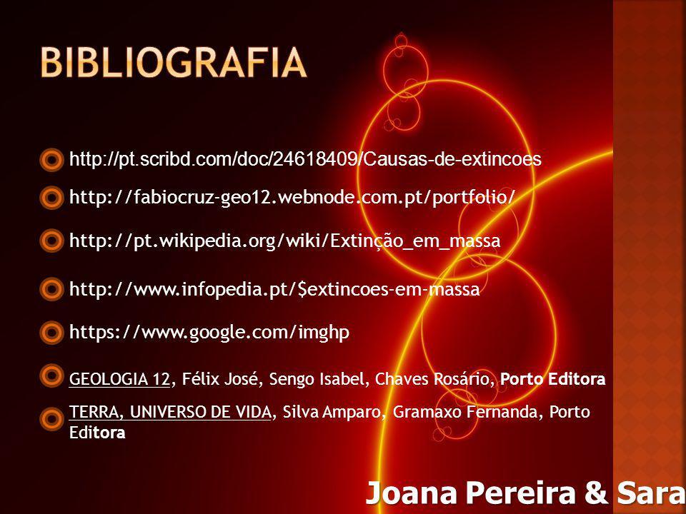 BiblioGRAFIA Joana Pereira & Sara Silva