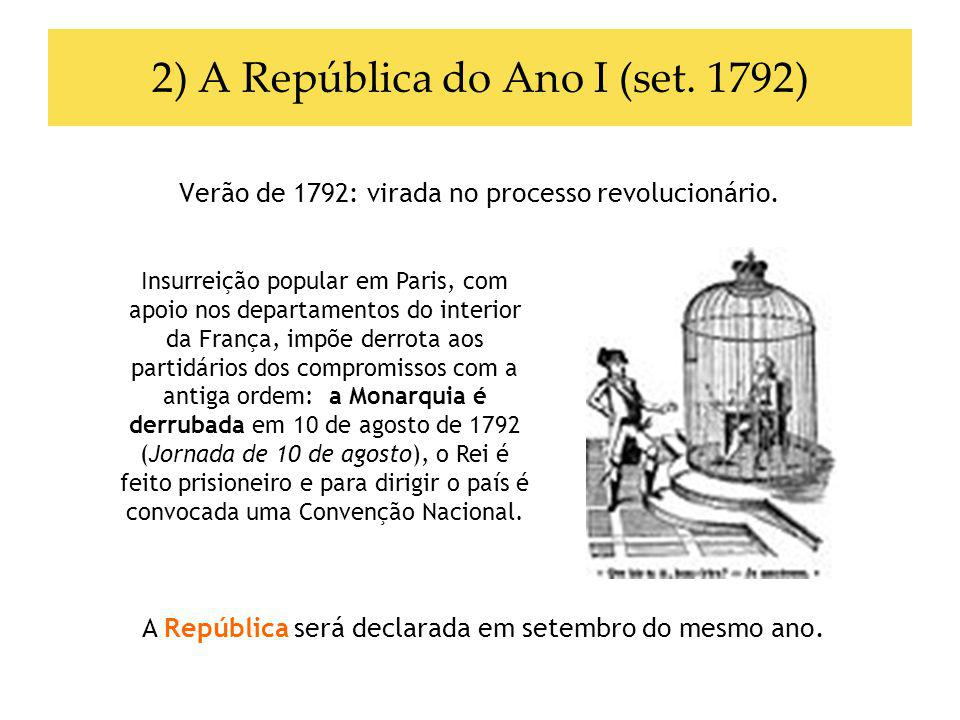 2) A República do Ano I (set. 1792)