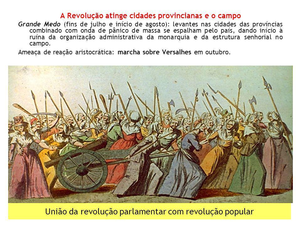 União da revolução parlamentar com revolução popular