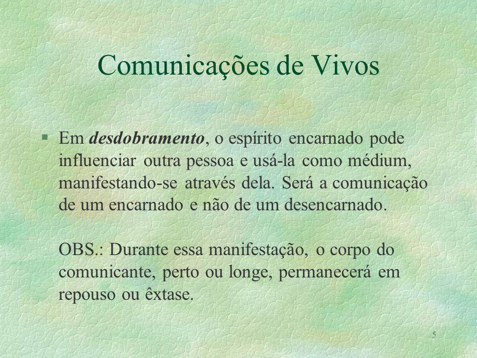 Comunicações de Vivos
