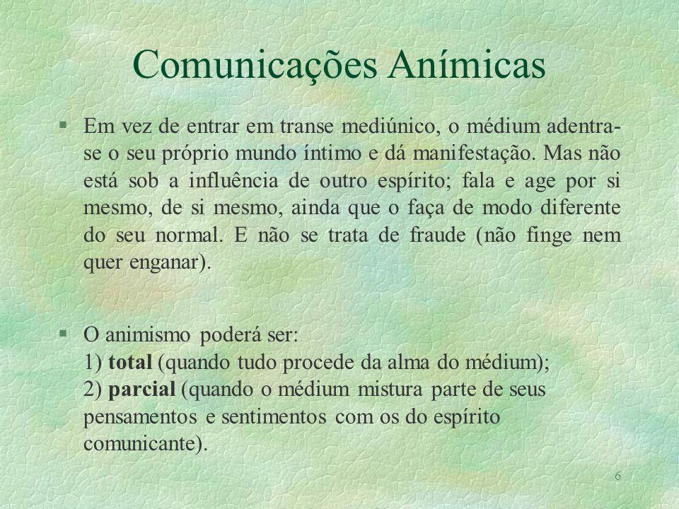 Comunicações Anímicas