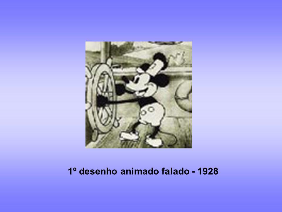 1º desenho animado falado - 1928