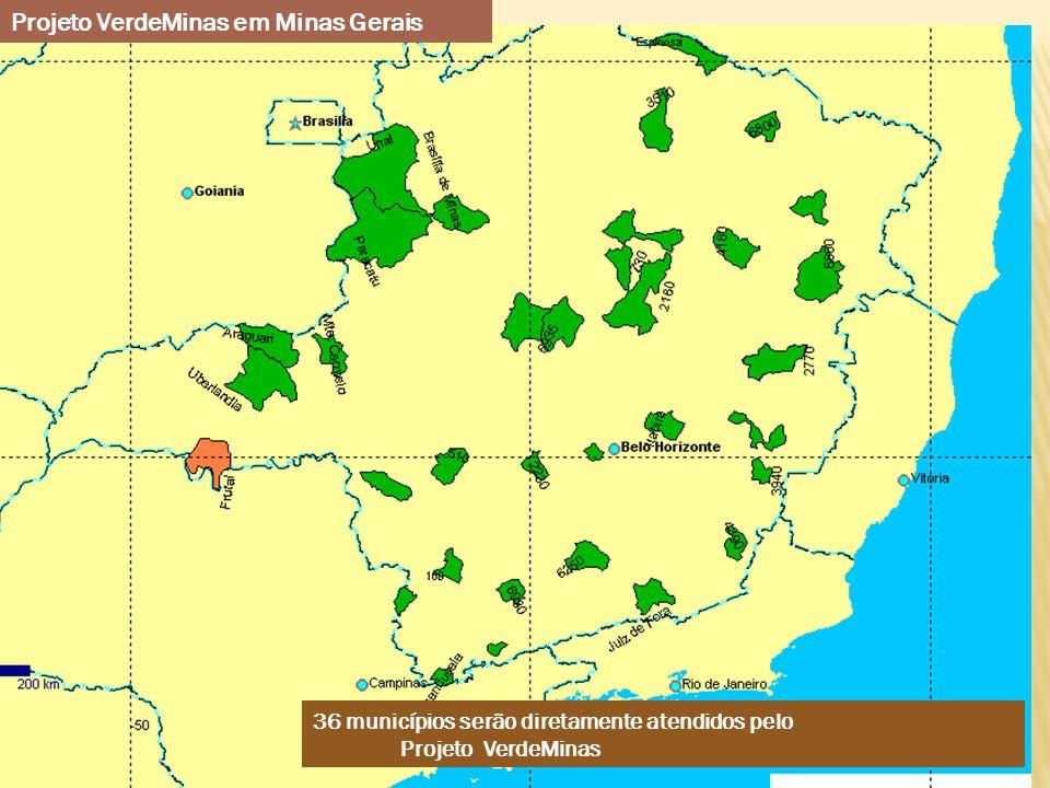 Projeto VerdeMinas em Minas Gerais