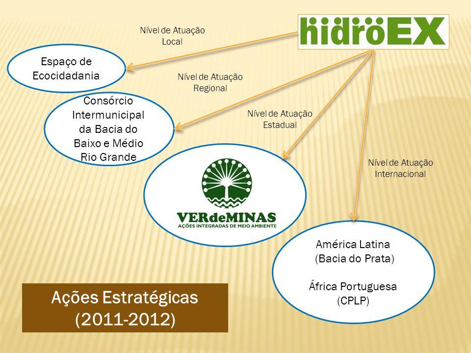 Ações Estratégicas (2011-2012)
